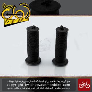 گریپ دوچرخه بچه گانه کد دی-878 مشکی Kids Bicycle Grip D-878 Black