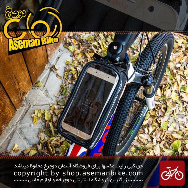 کیف روی تنه دوچرخه بی تی بی مدل گرینی نارنجیBTB Bicycle Saddle Bag Greny Orange