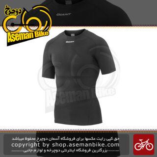 تی شرت آستین کوتاه جاینت مدل ۳ دی بیس لایر مشکی سایز ایکس ایکس لارج Bicycle Giant 3D Short Sleeve Jersey Base Layer Black 2XL