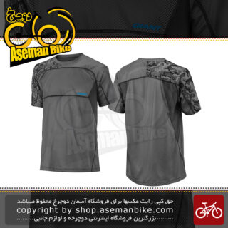 لباس دوچرخه سواری تی شرت برند جاینت مدل ریلم آستین کوتاه آبی سایز ایکس لارج Bicycle Giant Realm Short Sleeve Jersey Black XL