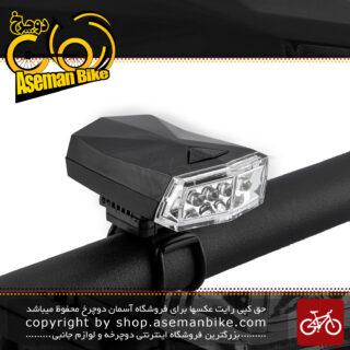 چراغ جلو دوچرخه سواری شکاری اوکی برند ایکس سی مدل 988 4 ال ای دی سفید Bicycle Head Light XC-988 4 Super Bright White LED