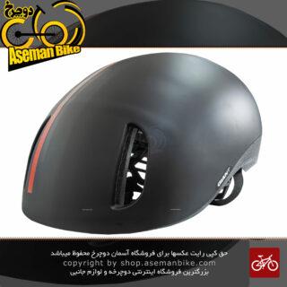 کلاه دوچرخه سواری جاینت مدل دیستریکت مشکی-قرمزسایز 59-55 سانتی متر Giant Bicycle Helmet DISTRICT Black/Red size 55-59 cm