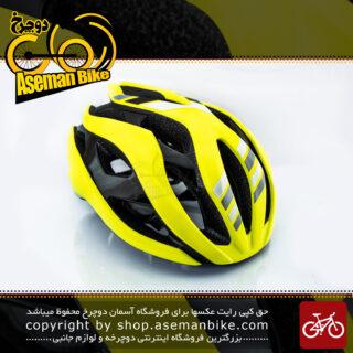 کلاه دوچرخه سواری جاینت مدل REV زرد سایز 61-55 سانتی متر Giant Bicycle Helmet Yellow size 55-61cm