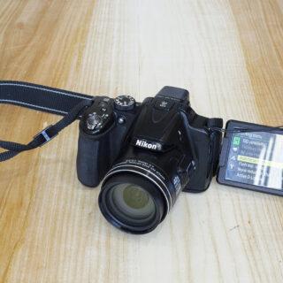 دوربین عکاسی و فیلمبرداری دست دوم نیکون مدل کامپکت سوپر زوم پی 520 Nikon Camera Compact Super-Zoom P520 Black