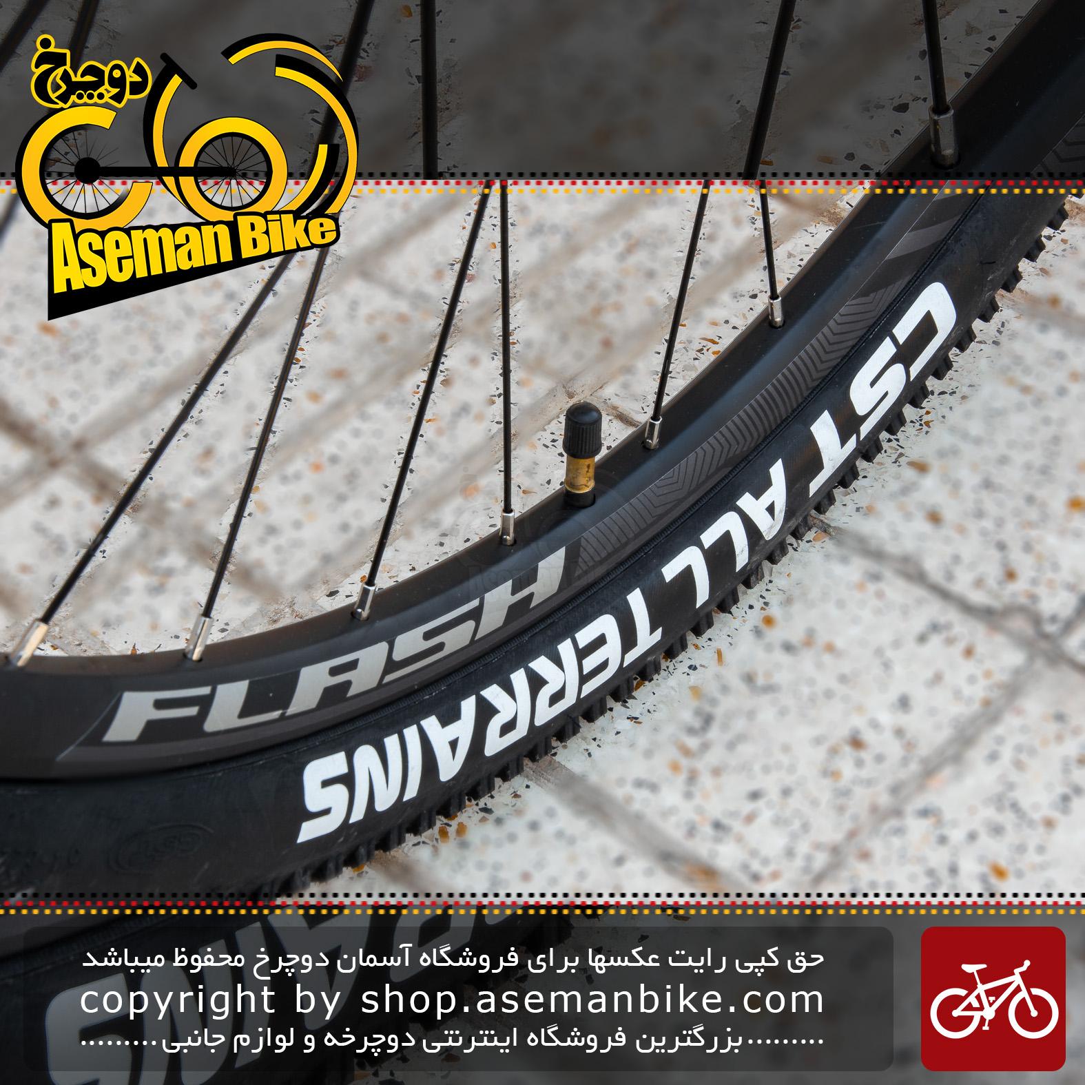 دوچرخه کوهستان فلش مدل تیم 4 سایز 29 18سرعته 2020 رنگ مشکی و نارنجی bicycle mtb flash team 4 size 29 18 speed 2020 black & orange