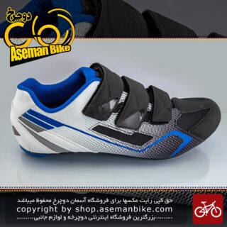 کفش دوچرخه سواری قفل شو کورسی جاینت مدل BOLT رنگ مشکی-سفید سایز 42تا 44 ،44-42 Giant Bicycle PHASE Shoes Black- White