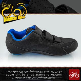 کفش دوچرخه سواری قفل شو کورسی جاینت مدل PHASE رنگ مشکی سایز 41 تا 43 41-43 Giant Bicycle PHASE Shoes Black