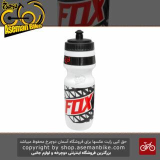 قمقمه دوچرخه فاکس مدل GIVEN ظرفیت 700 میلی لیتر سفید قرمز Fox GIVEN Water Bottle 700 MiliLiter
