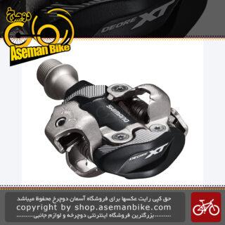 پدال رکاب قفل شو لاک کراس کانتری حرفه ای شیمانو ایکس تی مدل 8100 Shimano Deore XT PD-M8100 XC Race SPD Pedal