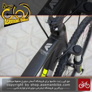 دوچرخه توریستی فلش مدل ادونچر 3 سایز 28 24 سرعته مشکی و سبز 2020 Tourist Bicycle Flash Adventure 3 Size 28 24 Speed Black & Green 2020