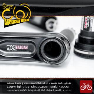 طبق قامه دوچرخه ریس فیس کانادا مدل ایولو تریپل اکس ۳ سرعته 22 و 32 و 44 دندانه RACE FACE Bicycle Crankset Bicycle Evolve X Type Triple 7075 T6 44X32X22T