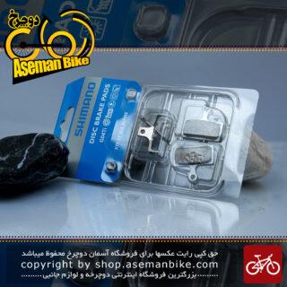 لنت ترمز دیسک هیدرولیک دوچرخه شیمانو مالزی مدل جی 04 تی آی سازگاری کامل با ست شیمانو اکس تی آر-اکس تی-اس ال ایکس-آلفاین Shimano Bicycle Hydraulic Disc Brake Pad G04ti Malaysia
