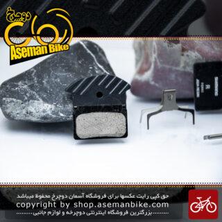 لنت ترمز دیسک هیدرولیک دوچرخه شیمانو مالزی مدل جی 02 ای سازگاری کامل با ست شیمانو دئور-اکس تی-اس ال ایکس-آلفاین Shimano Bicycle Hydraulic Disc Brake Pad J02A Malaysia