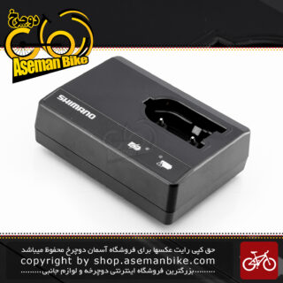 شارژر باطری لوازم برقی دوچرخه شیمانو سری دی آی 2 مدل اس ام-بی سی آر 1 مشکی Shimano Electric Parts-set Battery Charger for Di2 SM-BCR 1
