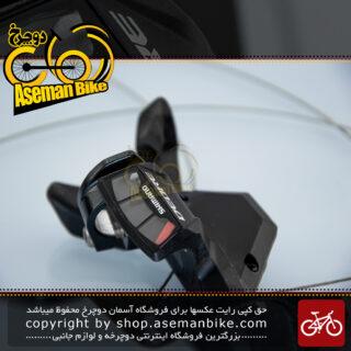 دسته دنده دوچرخه شیمانو ساخت ژاپن 3 در 9 سرعته ام 590 Shimano Bicycle M590 3x9 Speed Shifter Japan
