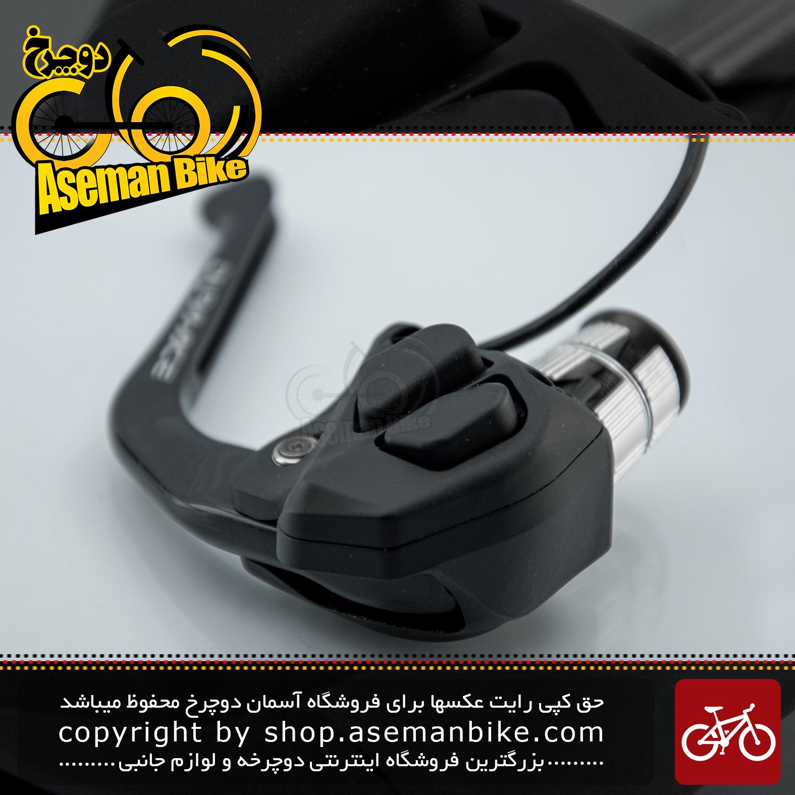 ست دسته دنده/ترمز برقی دوچرخه کورسی جاده شیمانو سری دی آی 2 دورا ایس مدل اس تی 7971 ساخت ژاپن Shimano Japan On-road Bicycle DI2 Shifter/Brake lever Dura Ace ST7971