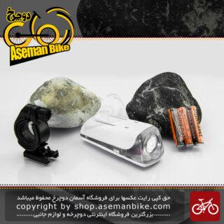 چراغ جلو دوچرخه ایکس سی 163 ال ای دی 0.5 وات سفید Bicycle Head Light XC-163 0.5 Watt White LED