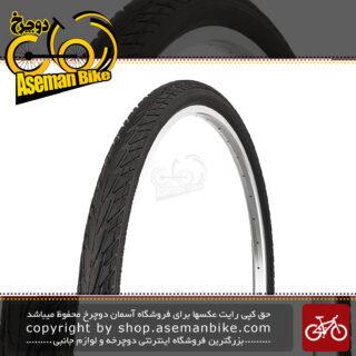 لاستیک تایر دوچرخه شهری توریستی دلی اندونزی استاندارد ژاپن ۲۸ سایز ۷۰۰ در ۳۸ سی DELI Inodnsia Standard JAPAN Bike City Tyre 700x38c 28×۱ ۵-۸ x 1 3-8