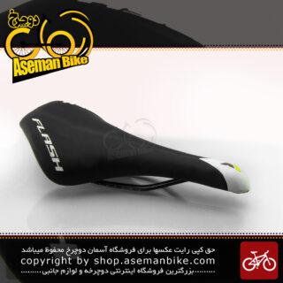 زین دوچرخه فلش مدل وادر مشکی-سفید Flash Saddle VADER Black-White