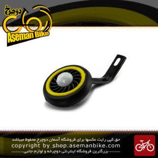 بغل بند کمکی غزال جهت تعادل و بالانس چرخ دوچرخه سایز 16 زرد بهترین کیفیت Gazal Training Wheels bicycle Kids 16 Yellow