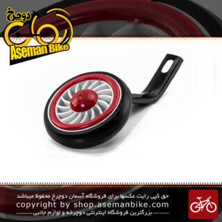 بغل بند کمکی غزال جهت تعادل و بالانس چرخ دوچرخه سایز 16 قرمز بهترین کیفیت Gazal Training Wheels bicycle Kids 16 Red