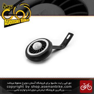 بغل بند کمکی غزال جهت تعادل و بالانس چرخ دوچرخه سایز 16 سفید بهترین کیفیت Gazal Training Wheels bicycle Kids 16 White