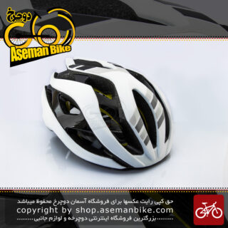 کلاه دوچرخه سواری جاینت مدل REV MIPS سفید سایز 61-55 سانتی متر Giant Bicycle Helmet REV MIPS White size 55-61 cm