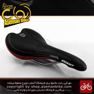 زین دوچرخه جاینت مدل ولو مشکی-قرمز Giant Bicycle Saddle VELO Black-Red