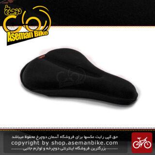 روکش زین دوچرخه اوکی مدل 001 مشکی OK Bicycle Saddle cover 001 Black