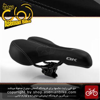 زین دوچرخه اوکی مدل اسنیک مشکی Ok Bicycle Saddle SNIK BlacK