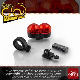 چراغ عقب دوچرخه برند اوکی مدل ایکس سی 607 تی مشکی Ok Bicycle Tail Light XC-607T Black