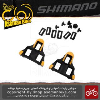 پدال لاک قفلی کورسی جاده پی دی آر اس 500 اس پی دی اس ال همراه با پل پدال Shimano PD-RS500 SPD-SL Pedal