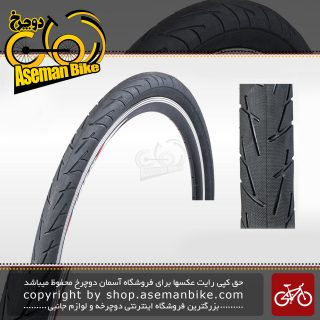 تایر لاستیک دوچرخه توریستی شهری چاویانگ سایز 27.5 در 2.10 کد اچ 5207 Tire Bicycle Chao yang 27.5x2.10 H-5207 City Touring