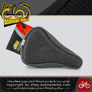 روکش زین دوچرخه چرمی دور دوخت تنظیمی برند انرژی توری درشت Energi Leather Big Lace Bicycle Saddle Cover