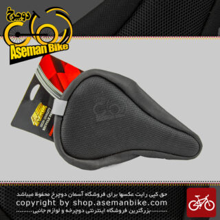 روکش زین دوچرخه چرمی دور دوخت تنظیمی برند انرژی توری ریز Energi Leather Small Lace Bicycle Saddle Cover