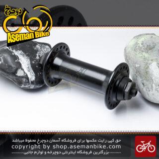 توپی جلو دوچرخه جوی تک مدل جی تی 13 مشکی 18 سوراخ JoyTech Bicycle Front Hub JT13 Black 18H