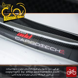 دوشاخ دوچرخه کورسی جاده پژو کربن مدل اد 864640 کاربوتک 2 Peugeot Onroad Bicycle Fork Carbotech2