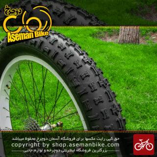 لاستیک دوچرخه ساحلی راکر با سایز 26 در 4.8 عاج درشت Sand Bicycle Tire Rocker Size 26X.4.8
