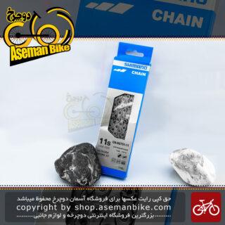 زنجیر دوچرخه شیمانو سری التگرا مدل اچ جی 701 11 سرعته 116 لینک Shimano Bicycle Chain Ultegra CN-HG701 11-SPEED