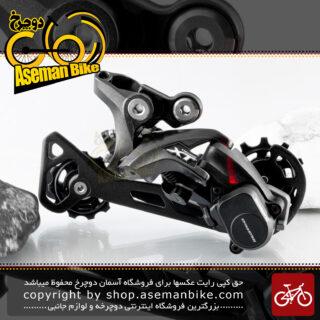 شانژمان دوچرخه کوهستان شیمانو سری اکس تی مدل ام 8000 11 سرعته Shimano MTB Bicycle Rear Derailleur XT RD-M8000 11Speed