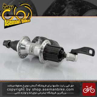توپی عقب دوچرخه شیمانو سری اس تی اکس پارالاکس مدل ام سی 32 ساخت ژاپن Shimano Bicycle Rear Hub Parallax MC32 Japan