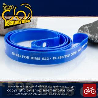 نوار دور طوقه دوچرخه کورسی جاده شیمانو مدل آر ام-تی پی 01 18-622 700 سی 18 میلیمتری تک عددی ساخت مالزی Shimano Onroad Bicycle Rim Tape RMTP01 700C 18-622 18mm 2pcs Malaysia