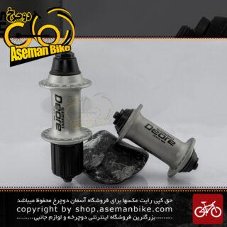 ست توپی تنه عقب و جلو دوچرخه شیمانو سری دئور اکس تی مدل ام 750 ساخت مالزی Shimano Bicycle hub set Deore XT M750 Malaysia