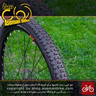 لاستیک سوالو ساخت اندونزی سایز 27.5 در 2.25 عاج درشت Swallow Bicycle Tire Size 27.5X2.25 Made In Indonesia
