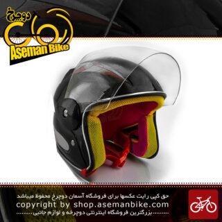 کلاه بچگانه موتوری نقاب دار برند ردو مشکی-قرمز Reddo Kids Helmet Black & Red