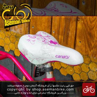دوچرخه استوک قناری مدل جنی سایز 20 صورتی Stock Bicycle Canary Jenny Size 20 Pink