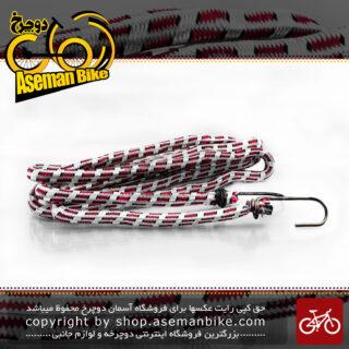 کش بار برند استریک سفید-قرمز با طول 2 متر و 81 سانتی متر Elastic Strap Energi STRIC White- Red 2.81 cm