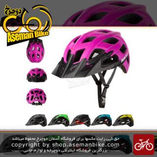 کلاه دوچرخه سواری راکی مدل 607 سفید Helmet Bicycle Rocky 607 Size M