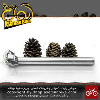 لوله زین دوچرخه کالوی قطر 28.0 میلیمتر طول 300 میلیمتر KALLOY Bicycle Seat-Post 28.0 mm Diameter, 300 mm Length