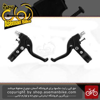 دسته ترمز دوچرخه اوکی مدل زد وان مشکی-قرمز OK Brake Lever Z1 Black